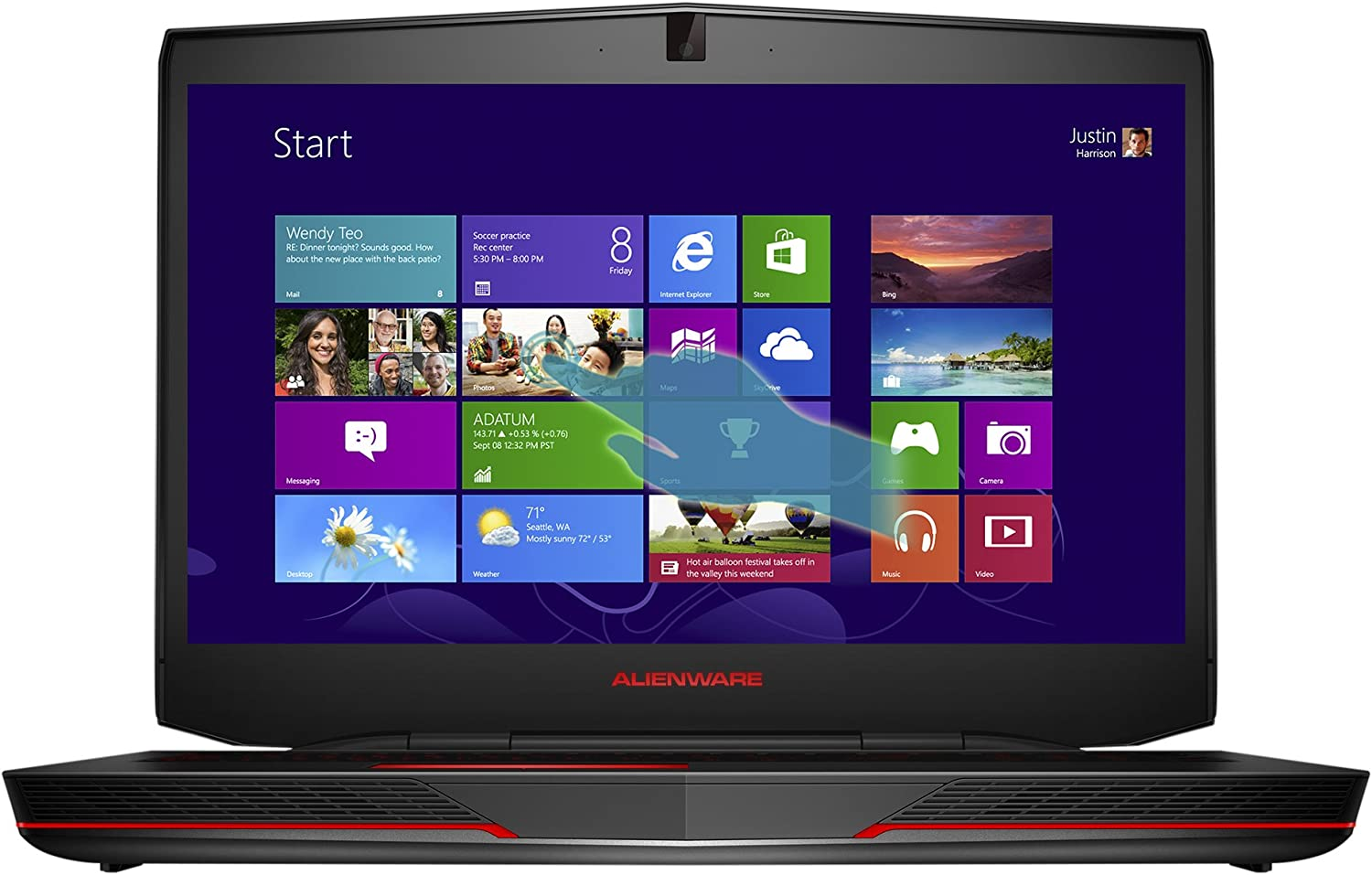 Alienware 17 ANW17-7493SLV 17.3-Inch Gaming Laptop [Discontinued By Manufacturer]
