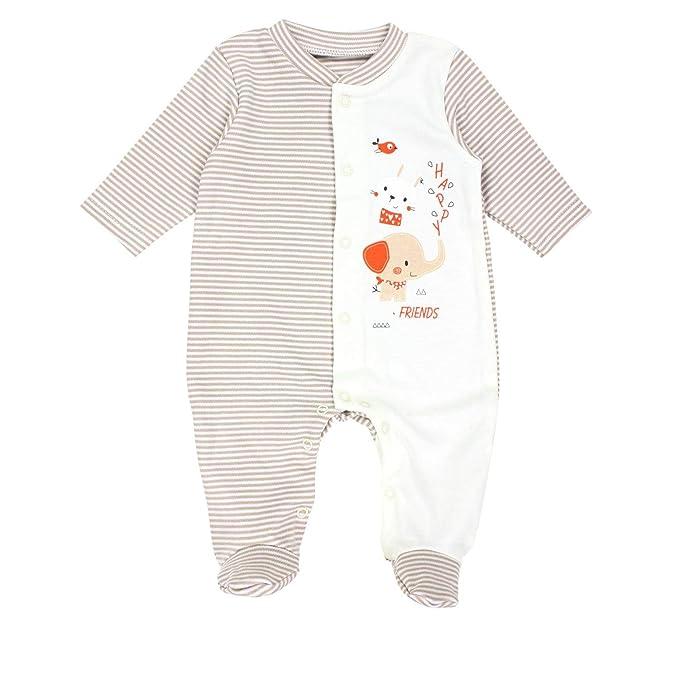 TupTam Pelele para Bebés Pijama con los Pies Cubiertos ...