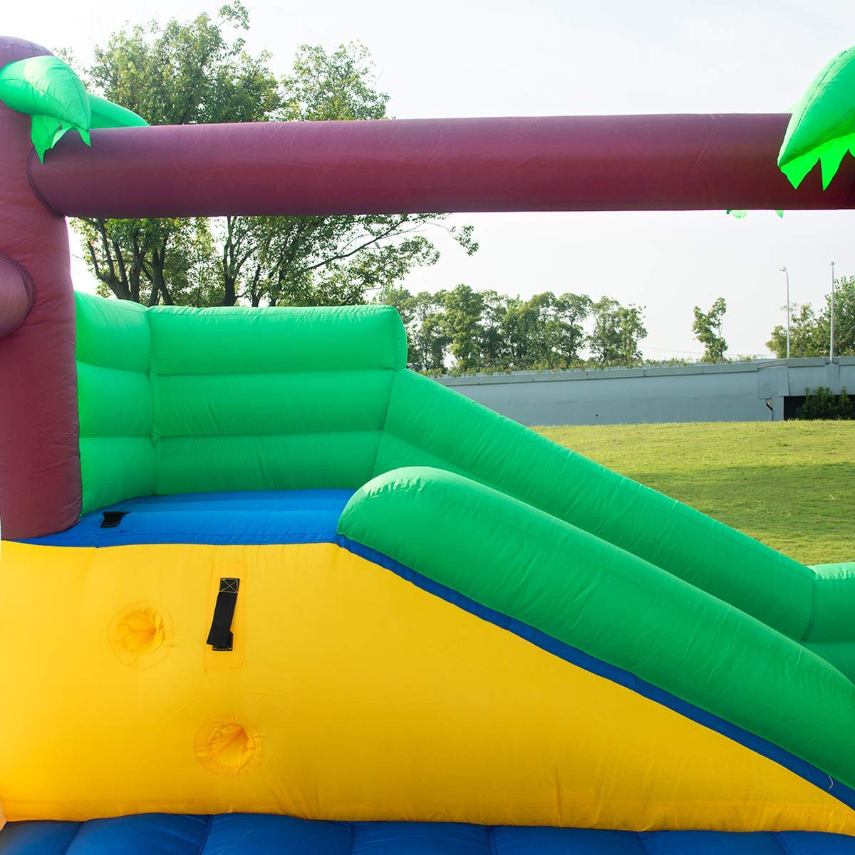 Costzon Inflatable Jungle Bounce House Jump and Slide Bouncer Castle (Bouncer with 950W Blower) by Costzon (Image #5)