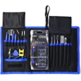 78-in-1 Precision Screwdriver Set,HTOCINQ Magnetic Driver Kit with 54 Bits, Repair Tool kits for iPhone X,8/8s,7,iPad,Laptops,PC,Eyeglasses,Watches