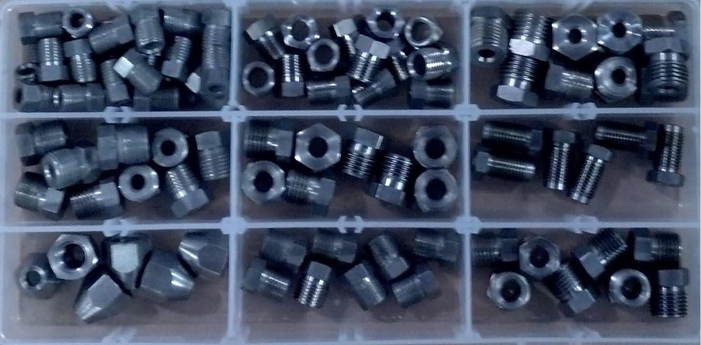 Brake line fittings Stainless Steel Tube nut kit