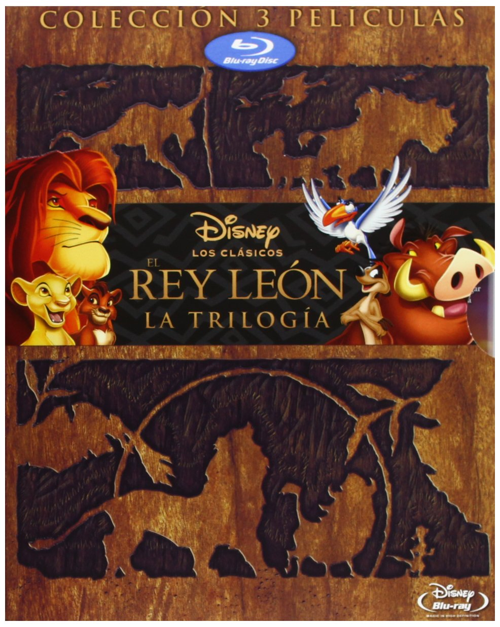 Pack Rey Leon Trilogy Bd [Blu-ray]: Amazon.es: Personajes Animados ...