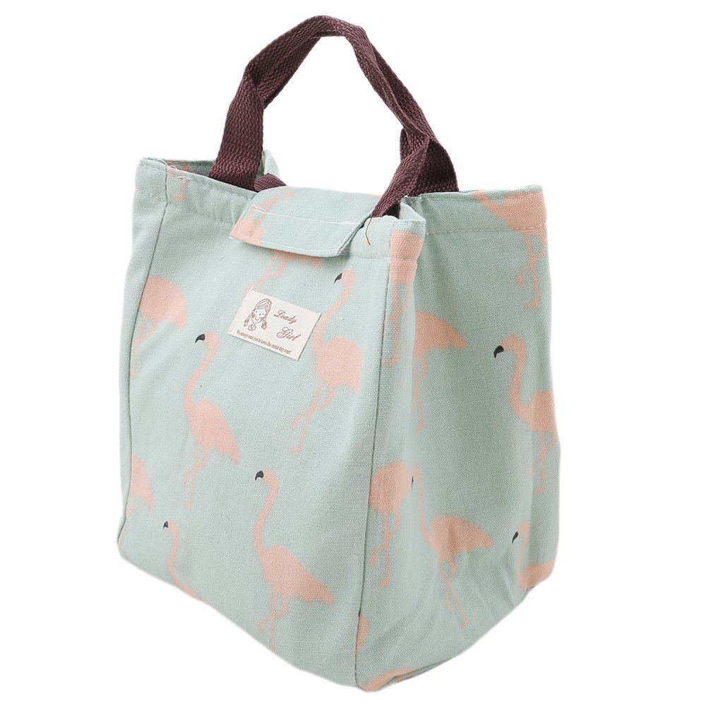Lalang Flamingo Lunch Bag Thermal Insulated Lunch Tote (style 1) 88_Store