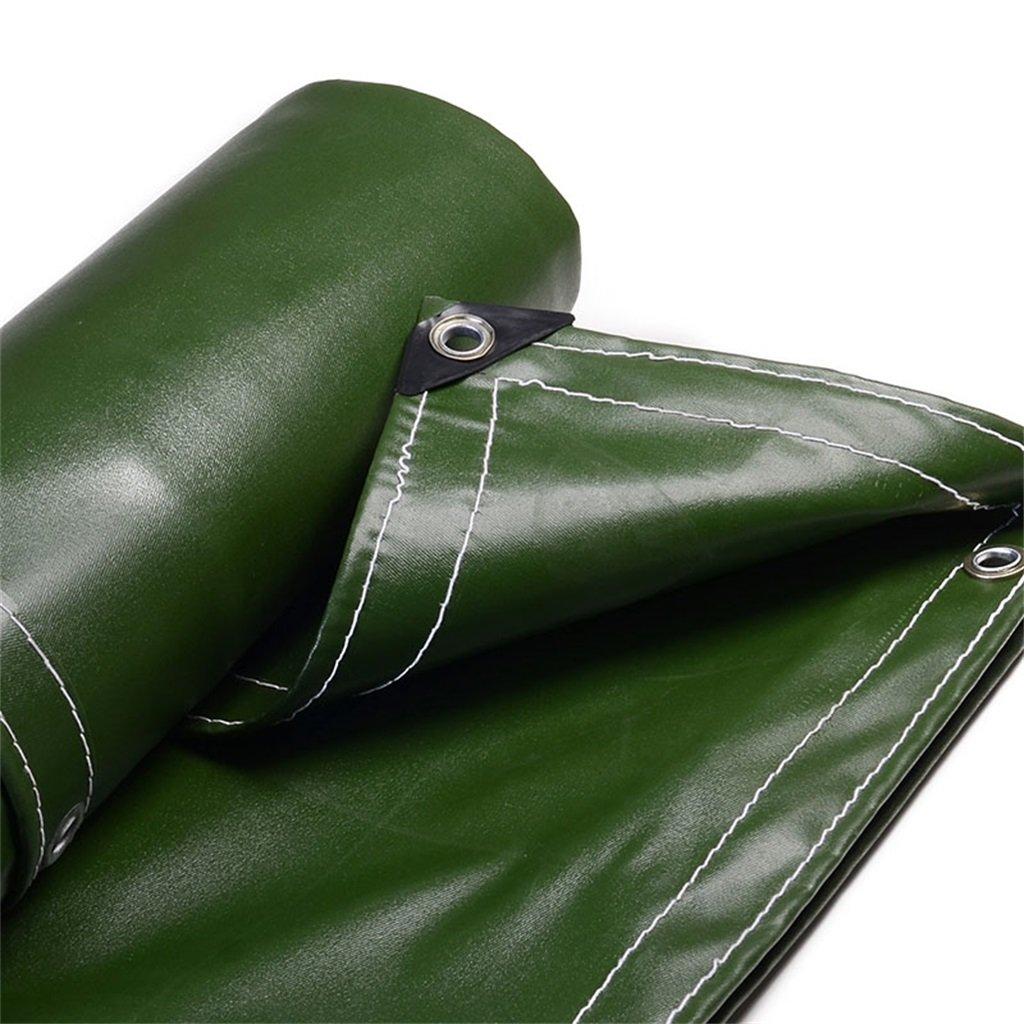 Plane Persenning Grüne Schatten-Hochleistungsplanen-Multifunktionsplane-Zelt-Unterlage für das Kampieren und im Freien, Stärke 0.7mm, 700g   m² Abdeckplanen (größe   4MX7M)