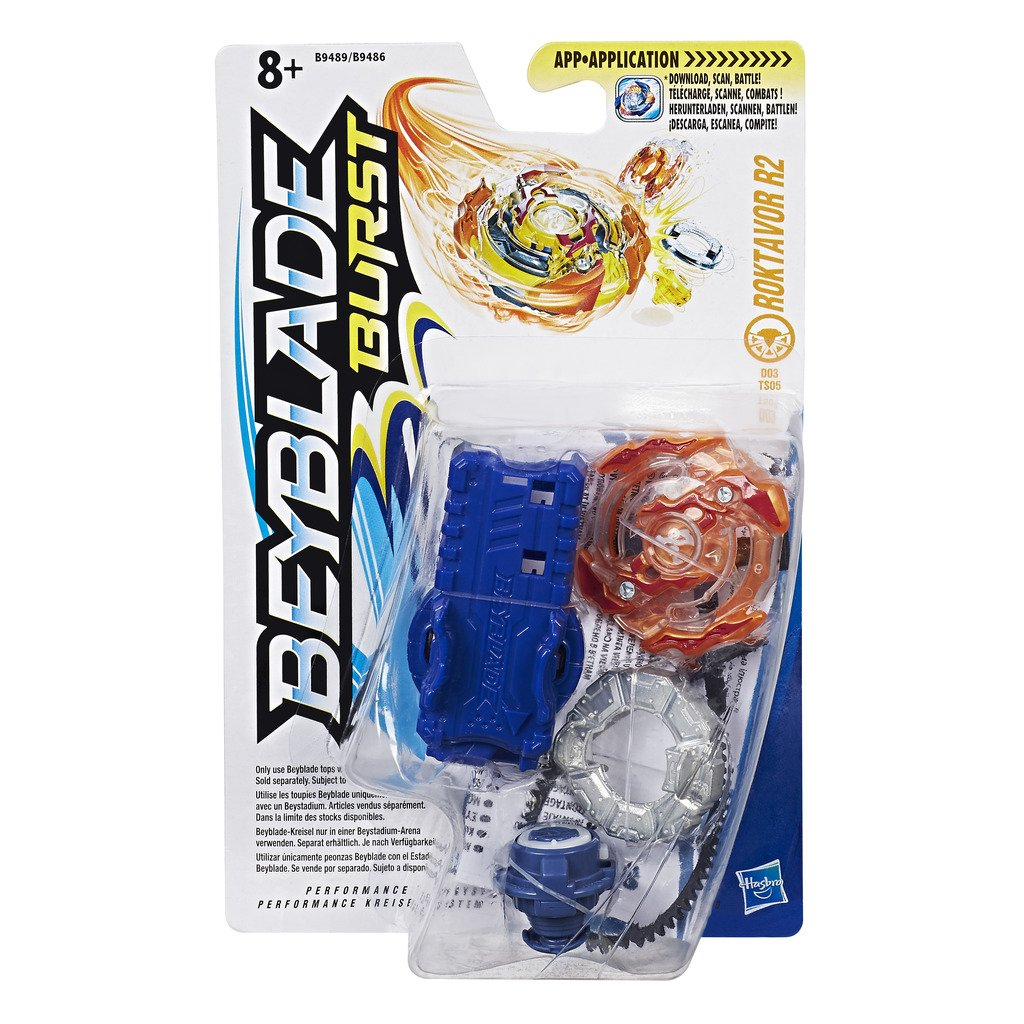 Beyblade Burst - B9489 - Pack Starter Roktavor 2 (1 toupie + 1 lanceur) product image