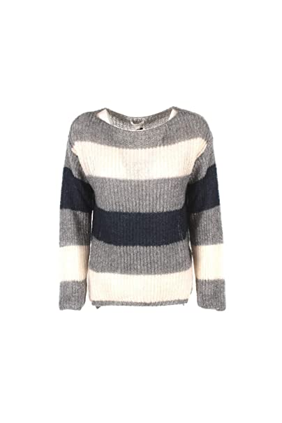 Kocca Jeans Maglia Maglione donna a righe Autunno Inverno 2018-19 DAMY   Amazon.it  Abbigliamento fa7f791daa1