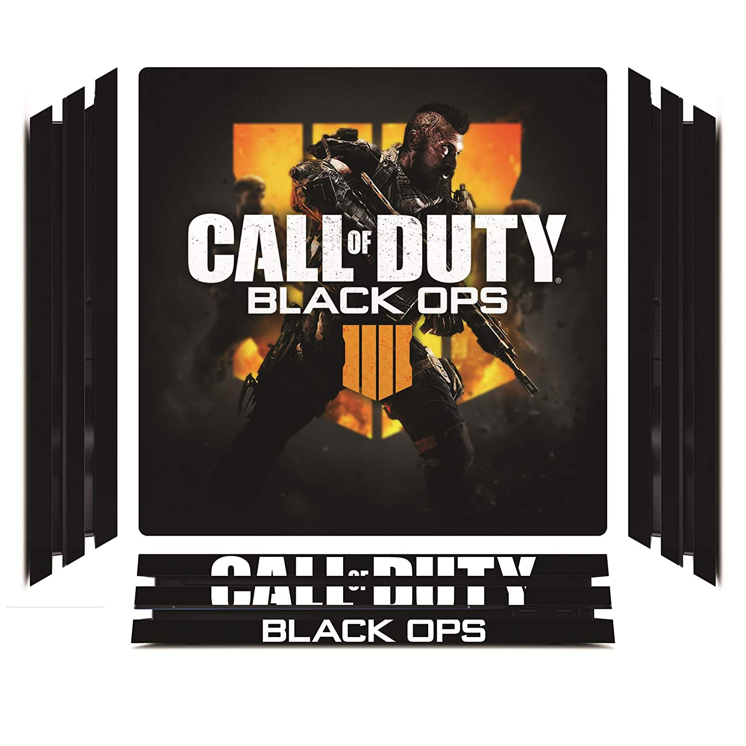 Call of Duty: Black Ops 4 IV BOPS4 BLOPS4 Game Skin for Sony Playstation 4 Pro - PS4 Pro Console - 100% Satisfaction Guarantee!