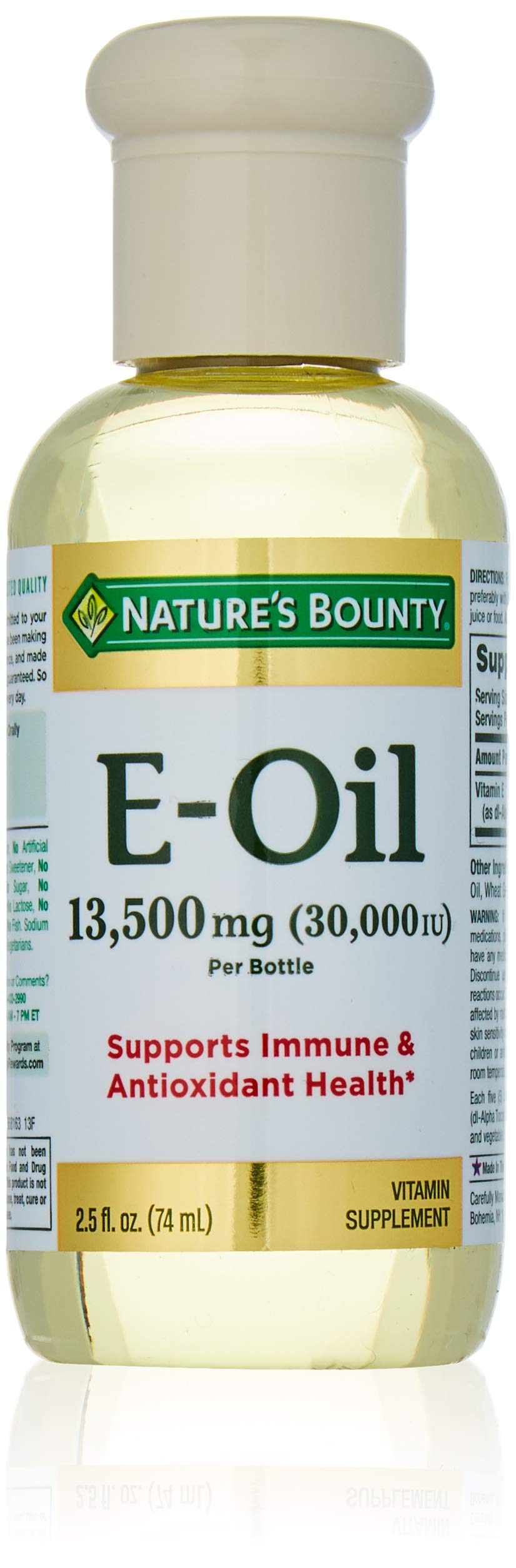 Nature's Bounty Vitamin E Oil 2.50 oz (Pack of 3)