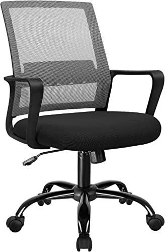 VICTONE Office Chair Ergonomic Mesh Mid Back Computer Desk Chair