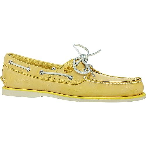 Timberland Classic Boat 2 Eye Maize, Náuticos para Hombre, Amarillo Claro: Amazon.es: Zapatos y complementos
