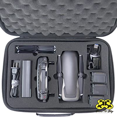 Drone Pit Stop Carrying Case for DJI Mavic Air - Splash-Proof | Durable | Compact | EVA Material - Carry with Protection: Camera & Photo [5Bkhe1102701]
