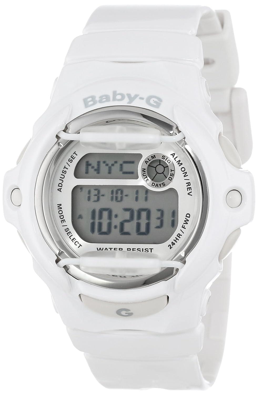 Casio Womens Bg169r 7a Baby G White Resin Sport Watch Qampampq Smile Solar Analog Jam Tangan Unisex Watches