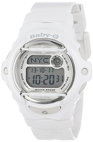 Casio BG169R-7A - Reloj de pulsera Mujer, Resina, color Blanco: Casio: Amazon.es: Relojes