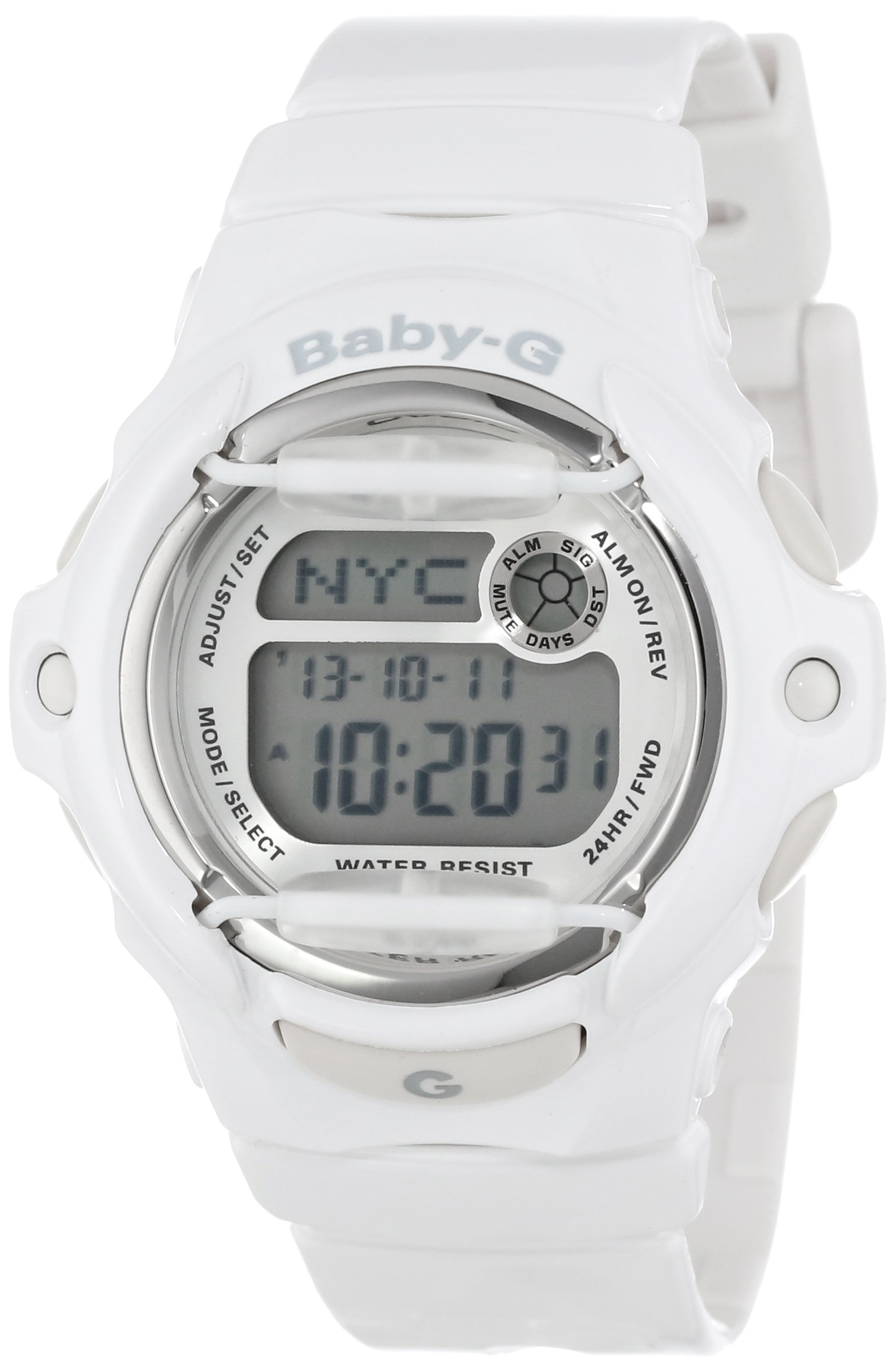 Casio Women's BG169R-7A ''Baby-G'' White Resin Sport Watch