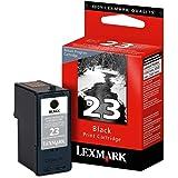 Lexmark 23 (18C1523) Black OEM Genuine Inkjet/Ink Cartridge - Retail by Lexmark