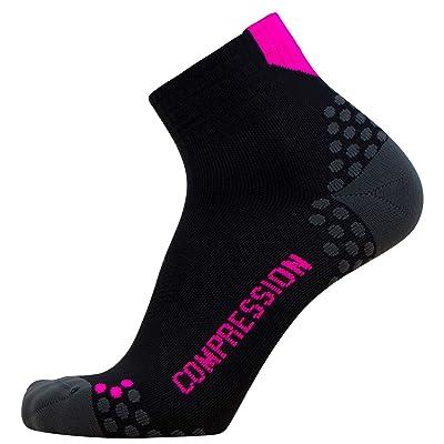 Running Socks – Moisture Wicking, Advanced Dot Padding System