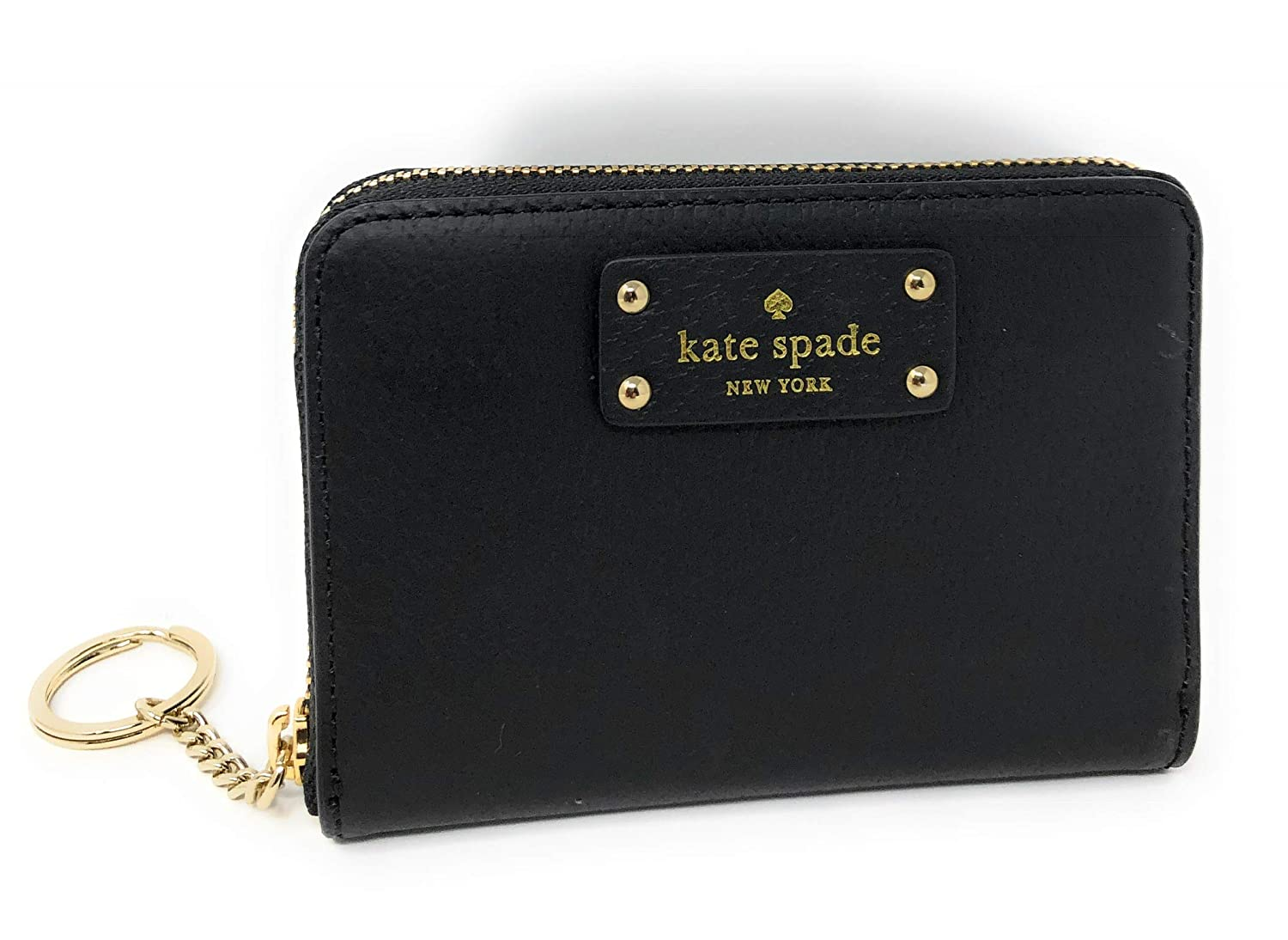 50bf0bc7e5ca Kate Spade Grove Street Dani Leather Zip Around Wallet Key Chain ...