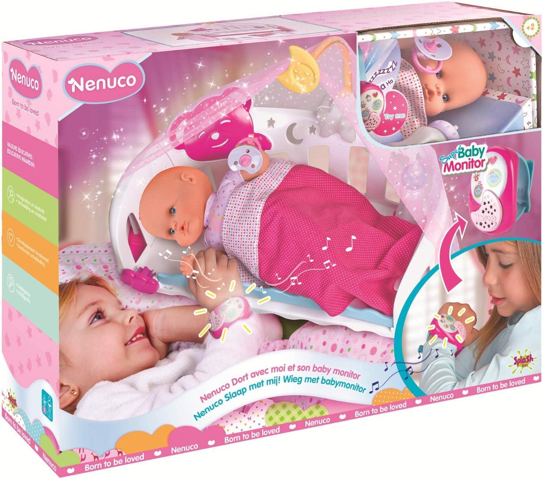 Nenuco - Cunita Duerme Conmigo Interactivo (Famosa 700014485) , color/modelo surtido