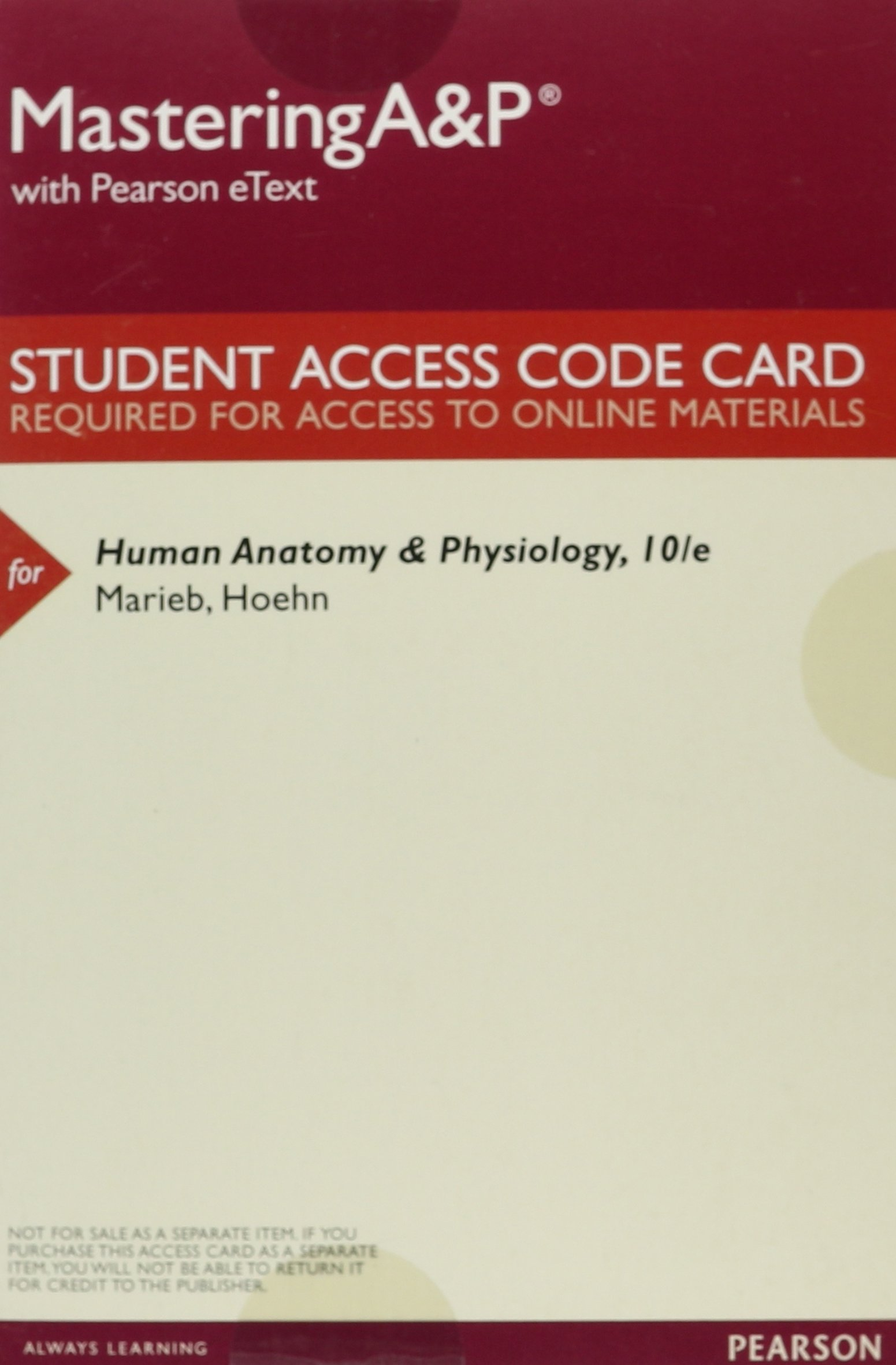 Beautiful Human Anatomy And Physiology 9th Edition Access Code Gift ...