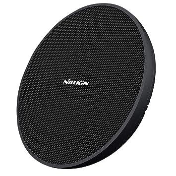 Nillkin Cargador inalámbrico rápido de 15W, plataforma de carga inalámbrica con ventilador de refrigeración,para iPhone XS/XS Max/XR/X/8 Plus,Galaxy ...