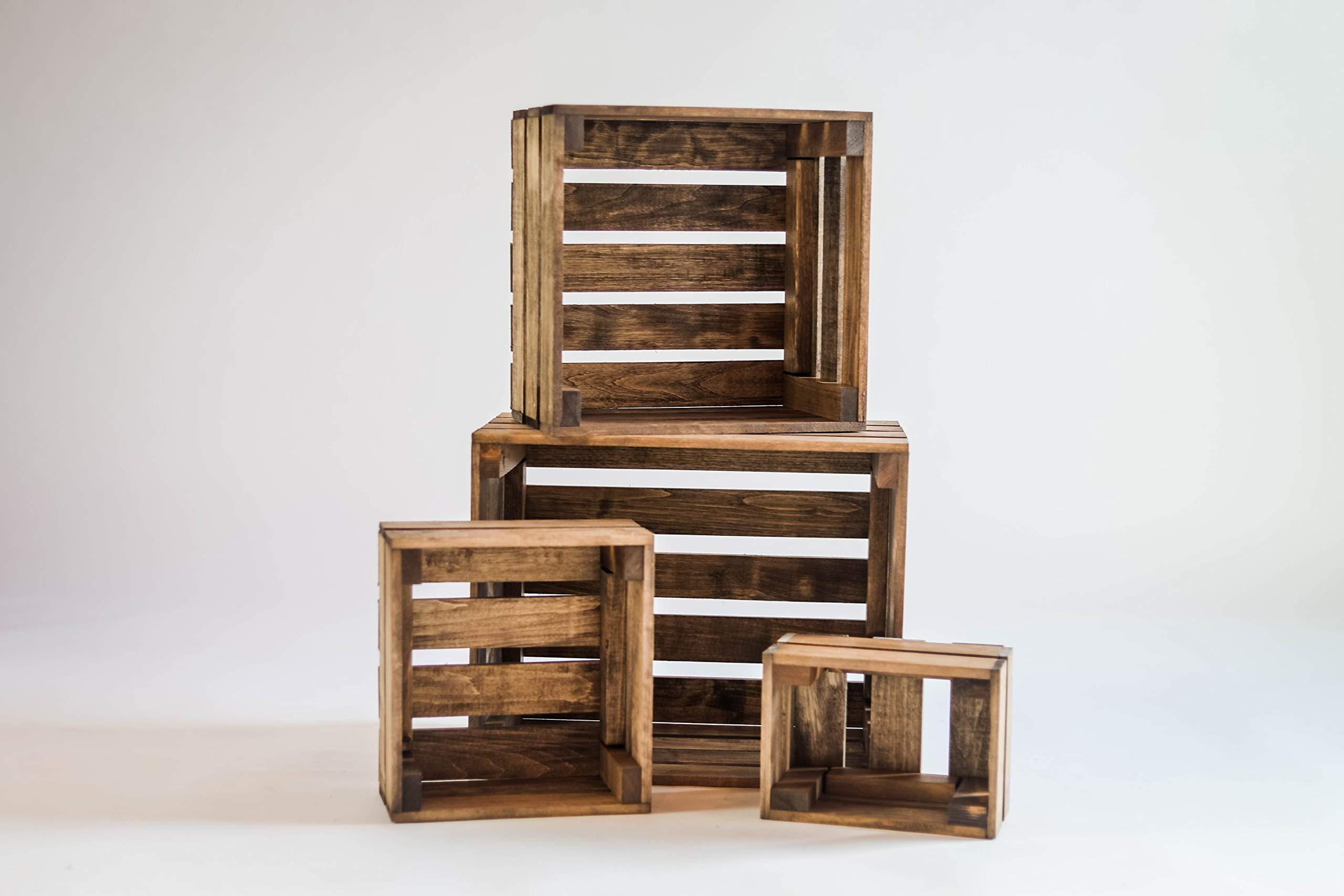 Darla'Studio 66 Wooden Nesting Boxes/Wood Crates by Darla'Studio 66