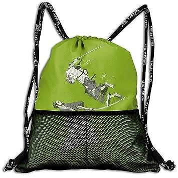 ziHeadwear Japan Japanese Ninja Samurai Drawstring Bag Sport ...