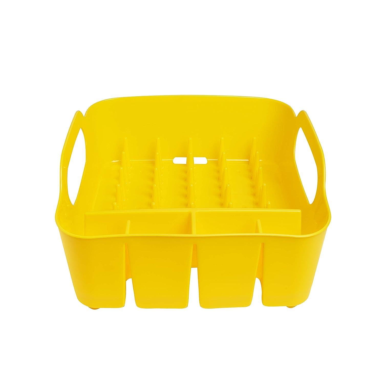 Umbra 330590-1048– Escurridor de platos y vasos, 36x32,5x15,5cm, color amarillo