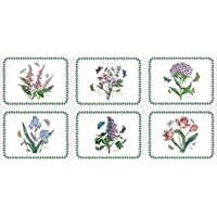 "Portmeirion Botanic Garden 'SMALL SIZE' Placemats 12 x 9"" (Set of 6)"