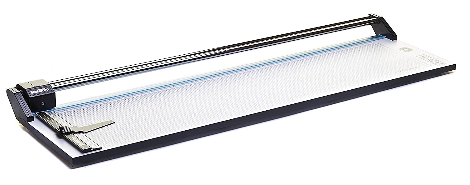 Rotatrim RC 18-Inch Cut Professional Paper Cutter//Trimmer RCM18 Precision Rotary Trimmer with Self-Sharpening Precision Steel Blades /& Twin Chrome Steel Guide Rails