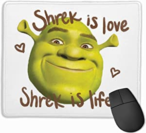 Anime Shrek Mouse Pad Waterproof Gaming Mouse Pad Non-Slip Rubber/Desk Cover Mousepads Computers/Laptop Office Desk Accessories PC Professional pad for Office and Home