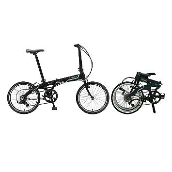 Bicicleta plegable Dahon Vybe D7 20 pulgadas 7 velocidades para bicicleta, 879323, negro