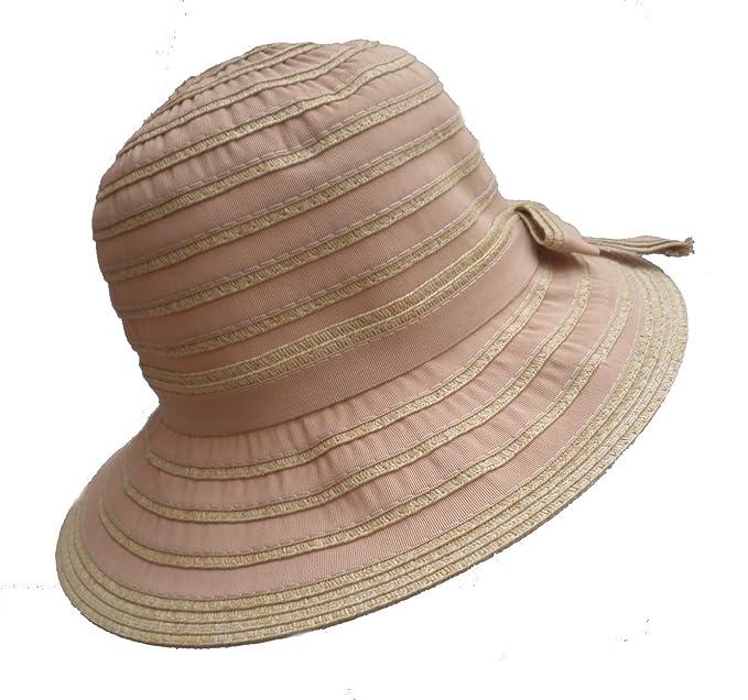 Damenhut Schlapphut hellbeige  Kofferhut rollbar Urlaub Strand  Sonnenschutz