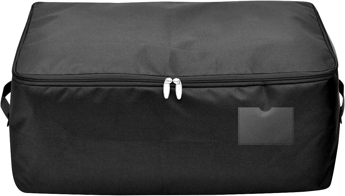caf/é Bolsas de Almacenamiento Grandes y Transpirables para guardarropas Caja de Almacenamiento Impermeable para Ropa de Temporada para guardarropas iwill CREATE PRO 65 * 38 * 28 cm