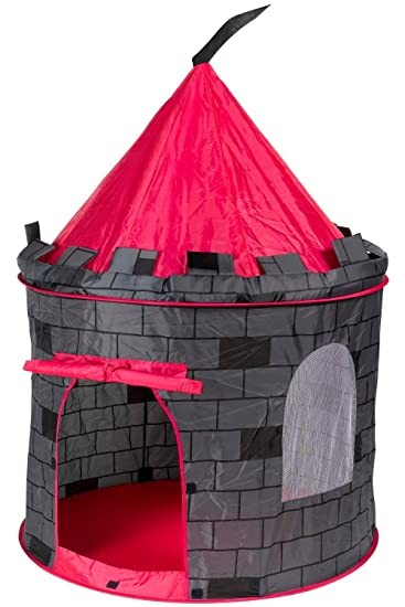 Knight Castle Prince House Kids Play Tent by POCO DIVO  sc 1 st  Amazon.com : castle tent for kids - memphite.com
