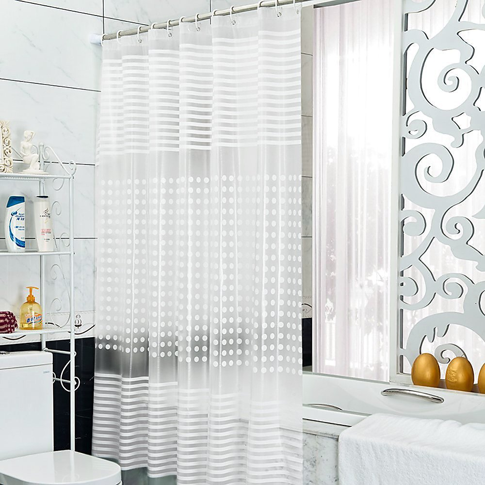 Riverbyland Shower Curtains Frosted 72'' x 80''