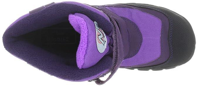 Clarks Snow Day G 203516966, Jungen Stiefel, Violett (Purple Synthetic), EU 27