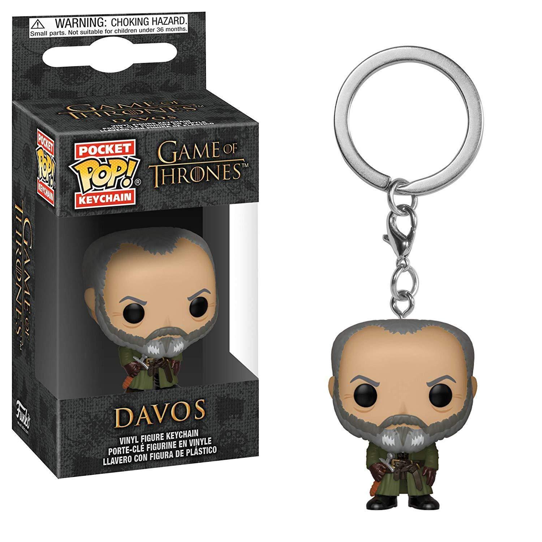 Game of Thrones Funko POP Davos Keychains