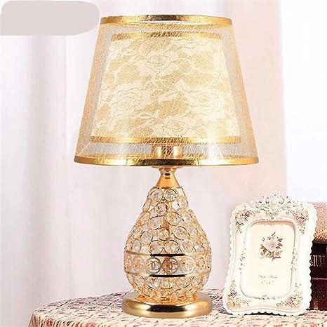 KAI Schlafzimmer Lampe Schöne Europäische Mode Luxus Hochzeit Bett Studie  Kreative Warme Schlafzimmer Dekoration Lampe,
