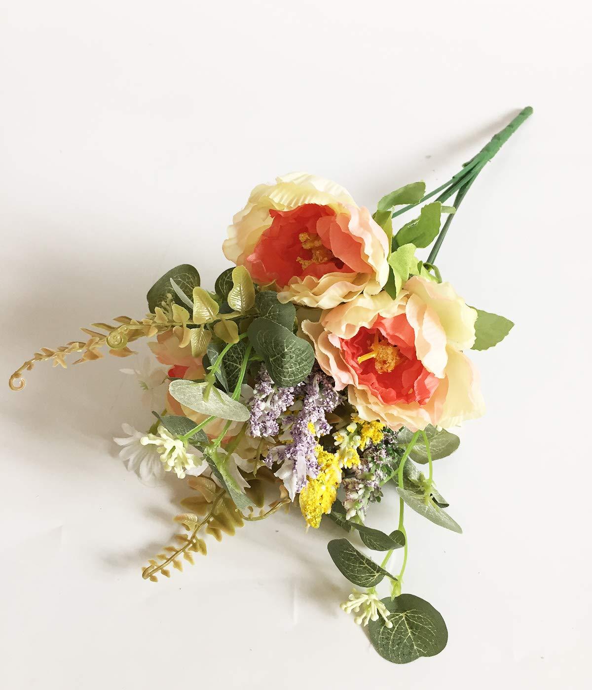 Artfen-3-Bouquet-Country-Style-Artificial-Tea-Rose-Fake-Camellia-Lu-Lotus-Flower-Bouquet-Party-Home-Decor-Approx-115-High