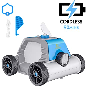 QOMOTOP Cordless In-Ground Pool Cleaner