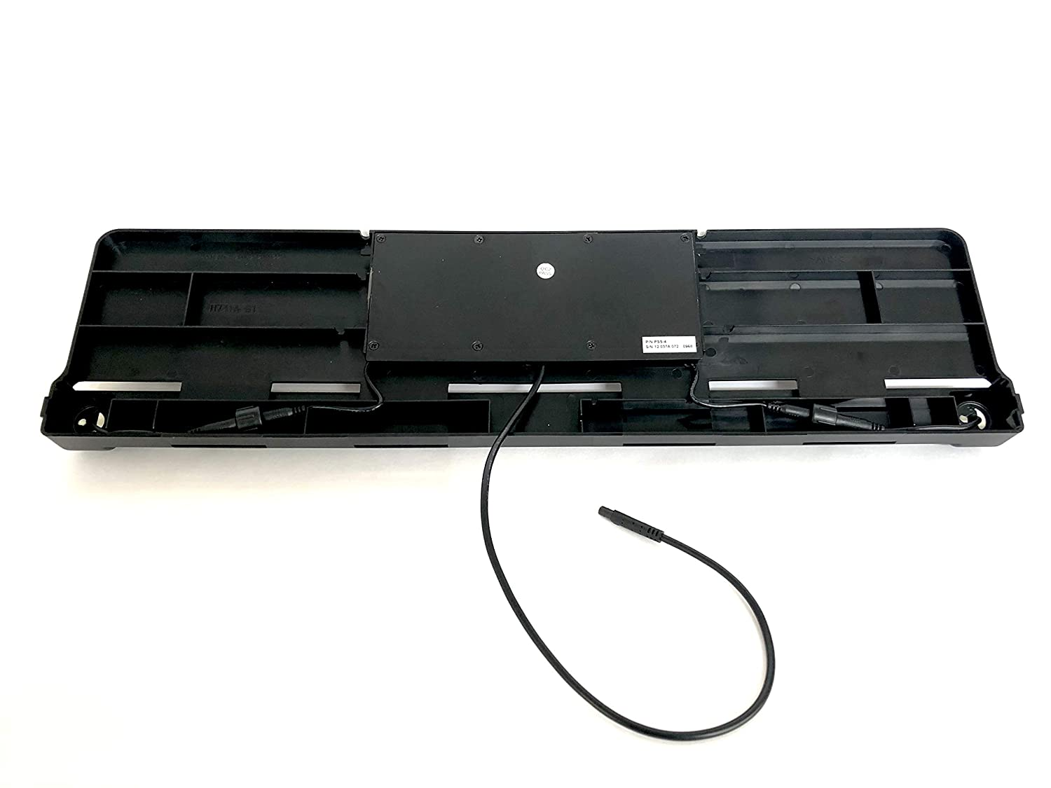 No need to drill the bumper Black Melchioni 380003065 Parking Sensor Kit PSS-4 with License Plate Holder Equipped with Alarm Sound Latest Generation