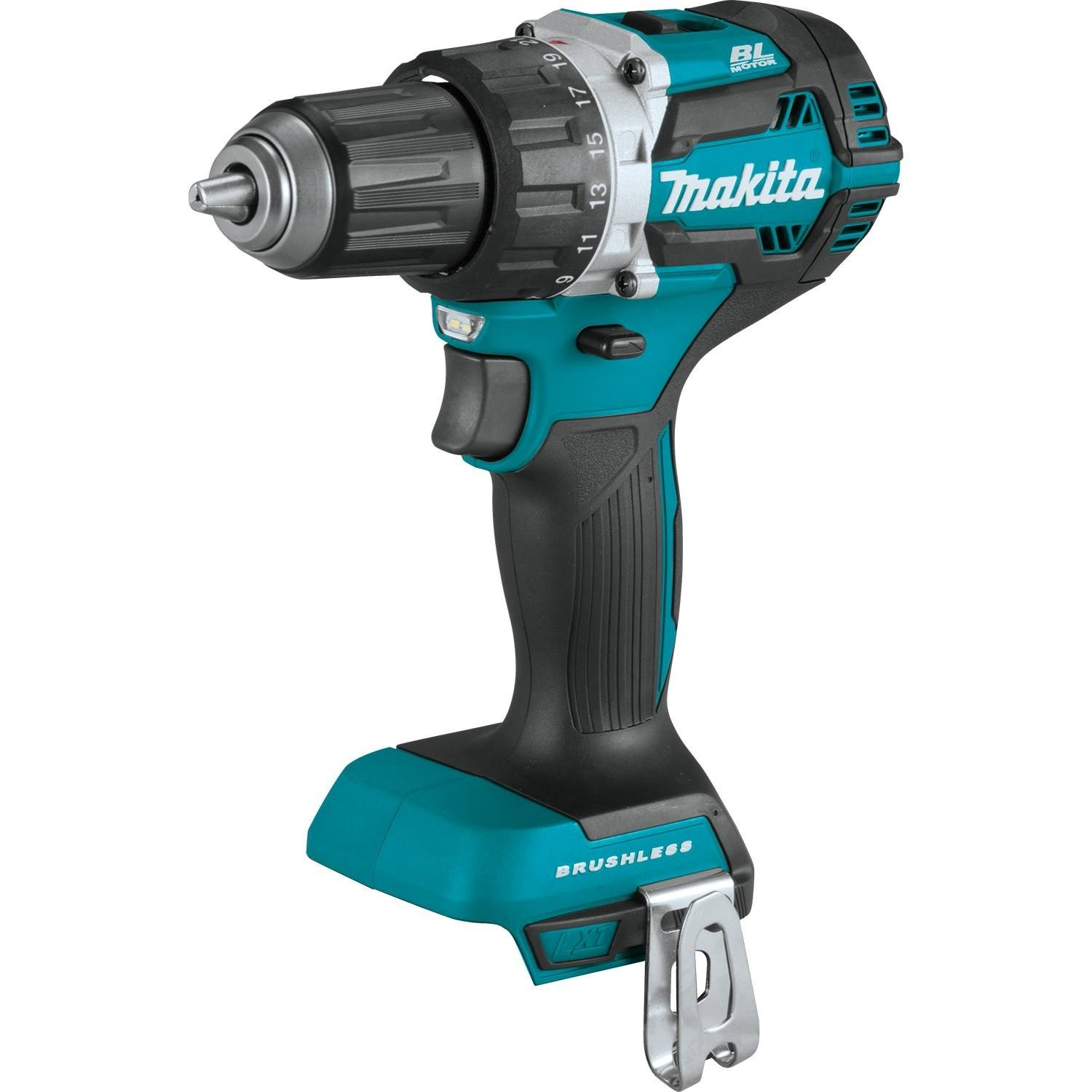 Makita XFD12Z 18V LXT Lithium-Ion Brushless Cordless 1/2'' Driver-Drill, Tool Only,
