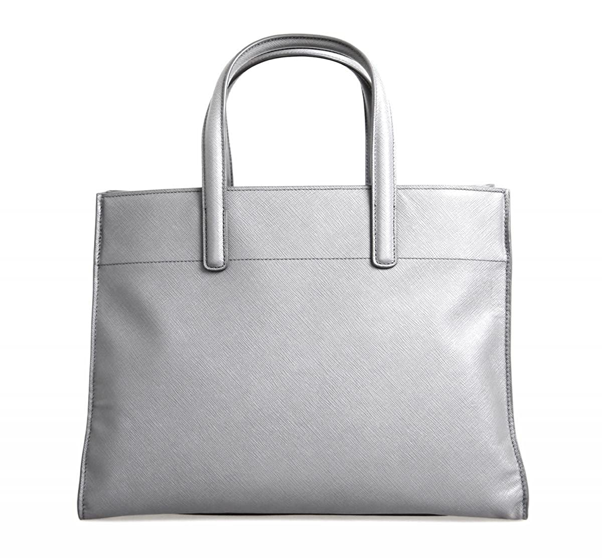 Prada Women s BN2603 Grey Saffiano Leather Shoulder Bag  Handbags   Amazon.com 5fd0c3821cbfc