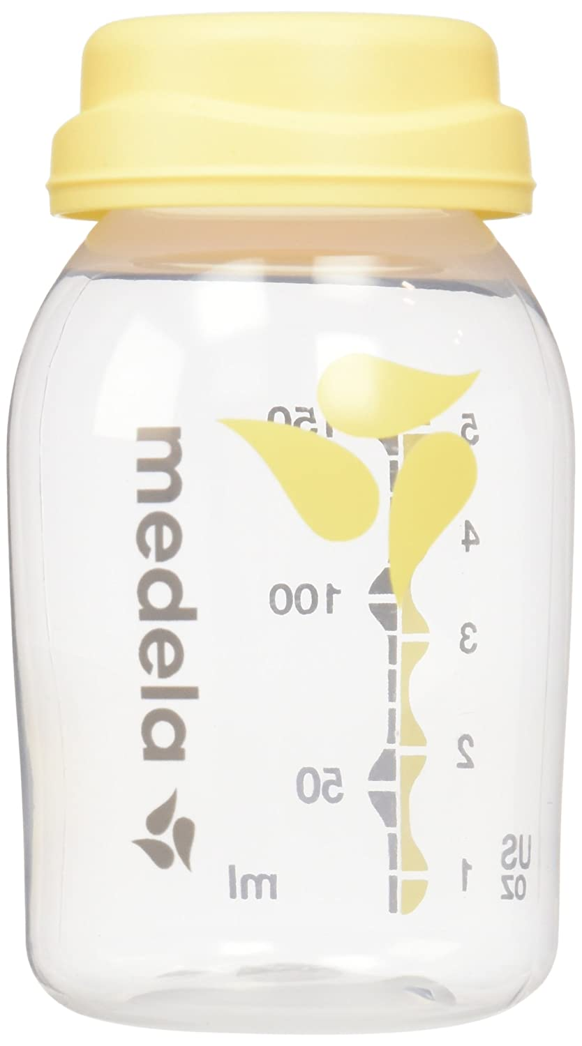 Medela Breast Milk Collection and Storage Bottles, 5 Ounce, 6 Count 87095