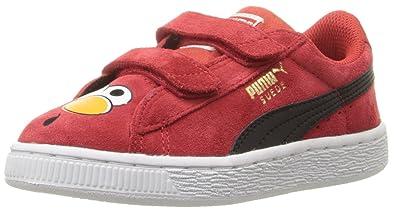 Puma suede sesame str kids sneaker toddlerlittle kidbig