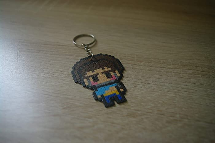 Llavero Yasuo - League of Legends/Hama beads - Pixel art ...
