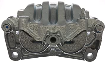 ACDelco 18FR1949C Professional Front Driver Side Disc Brake Caliper Assembly without Pads Remanufactured Friction Ready Coated