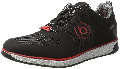 fcbab55c4a94 Bugatti Herren 322307015459 Sneaker, Schwarz Black, 46 EU  Amazon.de ...