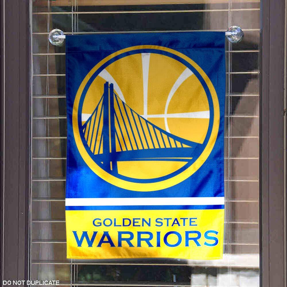 Wincraft Golden State Warriors Double Sided Garden Flag