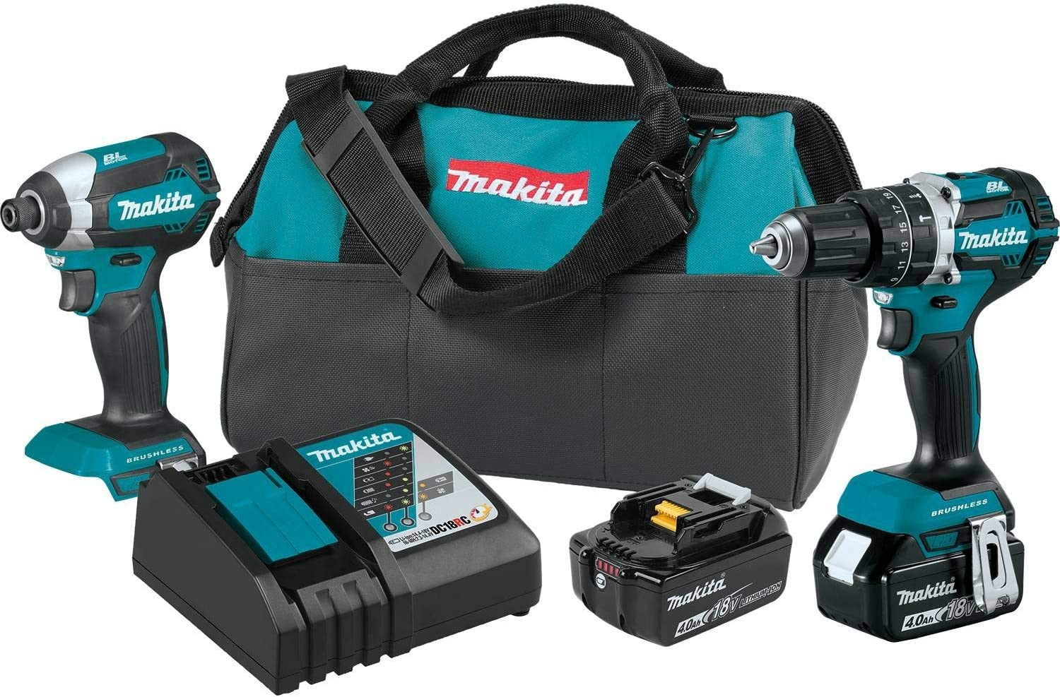 Makita XT269M 18V LXT Lithium-Ion Brushless